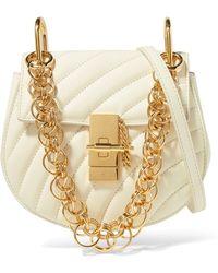 Chloé - Drew Bijou Quilted Leather Shoulder Bag - Lyst