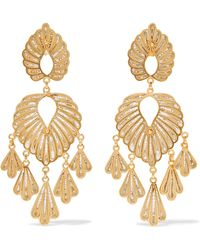 Mallarino - Irene Gold Vermeil Earrings - Lyst