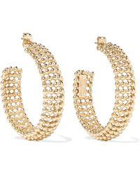 Rosantica - Vita Gold-tone Hoop Earrings - Lyst
