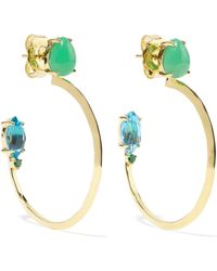 Ippolita - Prisma 18-karat Gold Multi-stone Hoop Earrings - Lyst