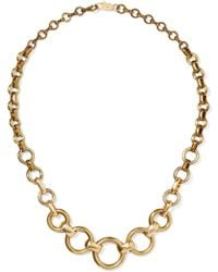Laura Lombardi - Gold-tone Necklace Gold One Size - Lyst