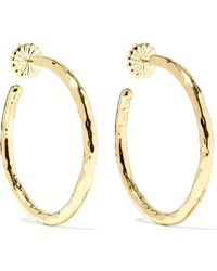 Ippolita - Classico 18-karat Gold Hoop Earrings - Lyst