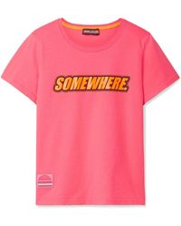 Marc Jacobs | Somewhere Printed Cotton-jersey T-shirt | Lyst