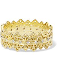 Grace Lee - Eternity Lace 14-karat Gold Diamond Ring - Lyst