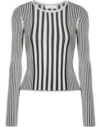 Altuzarra - Seine Ribbed Stretch-knit Jumper - Lyst
