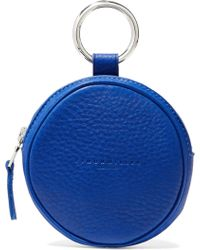 Simon Miller - Circle Pop Textured-leather Pouch - Lyst