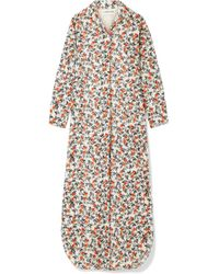 By Malene Birger - Sultry Floral-print Cotton Maxi Dress - Lyst