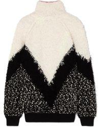 Givenchy - Oversized Mohair-blend Bouclé Turtleneck Sweater - Lyst