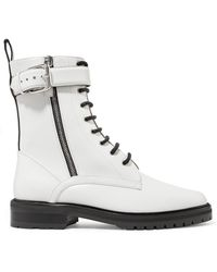 Tabitha Simmons - Max Leather Combat Boots - Lyst
