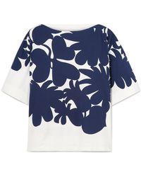 Marni - Floral Short-sleeve T-shirt - Lyst