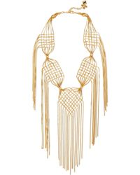 Rosantica - Aquilone Gold-plated Necklace - Lyst