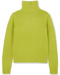 Allude - Cashmere Turtleneck Sweater - Lyst