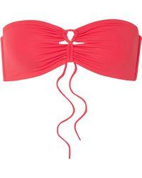 Broochini - Antibes Bandeau Bikini Top - Lyst