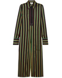 3.1 Phillip Lim - Striped Satin Tunic - Lyst