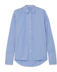 Stella McCartney - Striped Cotton-poplin Shirt - Lyst