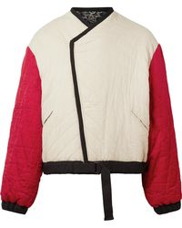 Étoile Isabel Marant - Hanae Reversible Quilted Cotton Jacket - Lyst