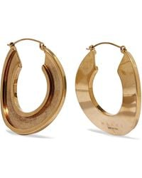 Marni - Monile Gold-tone Hoop Earrings - Lyst