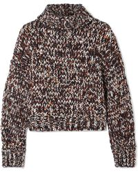 Brunello Cucinelli - Sequined Chenille Turtleneck Jumper - Lyst