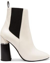 3.1 Phillip Lim - Drum Leather Ankle Boots - Lyst