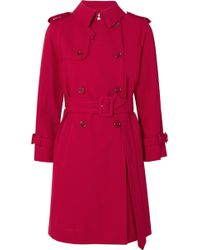 Marc Jacobs - Cotton Trench Coat - Lyst