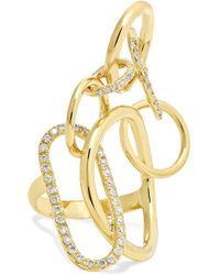 Gaelle Khouri - Qualia 18-karat Gold Diamond Ring - Lyst