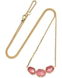 Brooke Gregson - Orbit 18-karat Gold Sapphire Necklace - Lyst