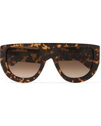 Ganni - Ines Ii D-frame Tortoiseshell Acetate Sunglasses - Lyst