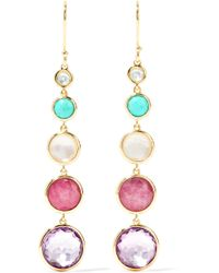 Ippolita - Lollipop Lollitini 18-karat Gold Multi-stone Earrings - Lyst