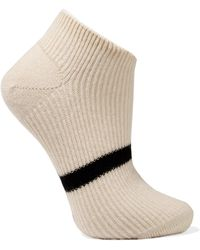 Maria La Rosa - Striped Cashmere Socks - Lyst
