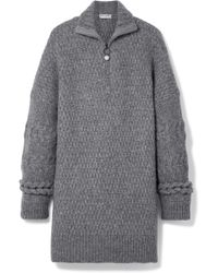 Opening Ceremony - Oversized Cable-knit Wool-blend Jumper - Lyst