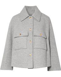 Chloé - Oversized Wool-blend Jacket - Lyst