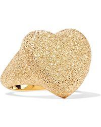 Carolina Bucci - Florentine Heart 18-karat Gold Ring - Lyst