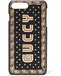 Gucci - Printed Leather Iphone 7 And 8 Plus Case - Lyst