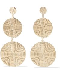 Elizabeth and James - Lorelai Gold-plated Earrings - Lyst