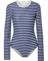 Cover - Long Sleeve Swimsuit - Lyst