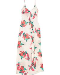 ViX - Bluebell Nicole Printed Voile Maxi Dress - Lyst