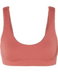 F E L L A. - Romeo Textured Bikini Top - Lyst