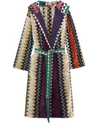 Missoni - Taylor Cotton-terry Robe - Lyst