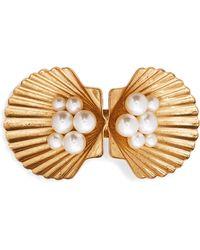 Jennifer Behr - Botticelli Gold-tone Swarovski Pearl Hairclip - Lyst