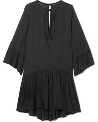 ViX - Agata Embroidered Voile Dress - Lyst