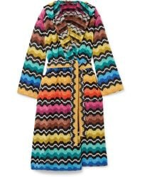 Missoni - Hooded Cotton-terry Robe - Lyst
