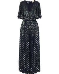 Temperley London - Topiary Sequined Crepe Jumpsuit - Lyst