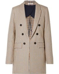Veronica Beard - Liss Houndstooth Cotton Blazer - Lyst