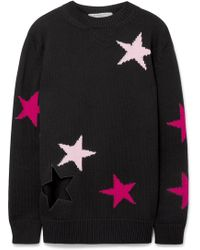Givenchy - Intarsia Wool Sweater - Lyst