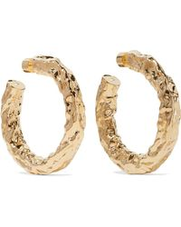 Jennifer Fisher - Maeve Gold-plated Hoop Earrings - Lyst