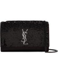 Saint Laurent - Monogramme Kate Medium Leather Shoulder Bag - Lyst
