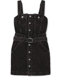 Ksubi - Deejay Denim Mini Dress - Lyst
