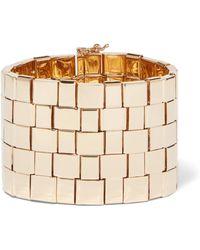 Chloé - Tilly Gold-tone Bracelet Gold S/m - Lyst