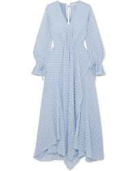 3.1 Phillip Lim - Ruched Jacquard Maxi Dress - Lyst