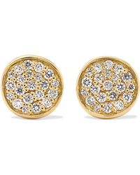 Ippolita - Stardust 18-karat Gold Diamond Earrings - Lyst